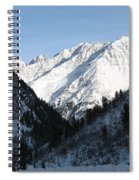 Snowwhite Mountain Top Spiral Notebook