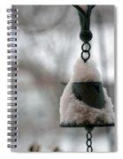 Snowy Bell Spiral Notebook