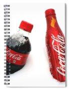Snowy Coca - Cola Spiral Notebook