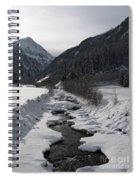 Snowy Creek Spiral Notebook