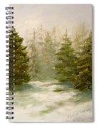 Snowy Day Spiral Notebook