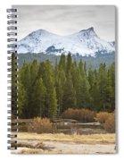 Snowy Fall In Yosemite Spiral Notebook