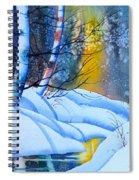 Snowy Forest Spiral Notebook