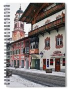 Snowy Good Friday Spiral Notebook