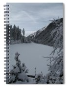 Snowy Meadow Spiral Notebook