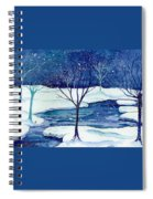 Snowy Moment Spiral Notebook
