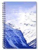 Snowy Mountains Spiral Notebook