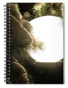 Snowy Night Spiral Notebook