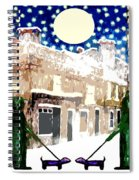 Snowy Night Spiral Notebook
