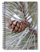 Snowy Pine Spiral Notebook