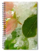 Snowy Spring 1 - Digital Painting Effect Spiral Notebook
