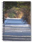 Snowy Trail Spiral Notebook