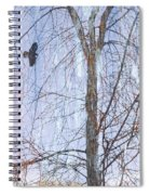 Snowy Tree Spiral Notebook