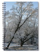Snowcovered Trees Spiral Notebook