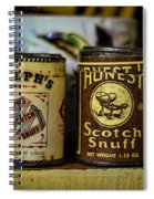 Snuff Tins Spiral Notebook