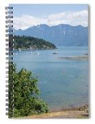 Snug Cove  Spiral Notebook