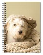 Snuggle Dog Spiral Notebook