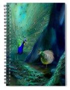 So Many Peacocks Spiral Notebook