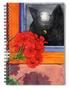 So Near And Yet Spiral Notebook