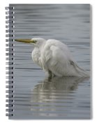 Soaking In The Pond Spiral Notebook