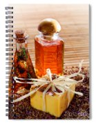 Soap And Fragrance Oils Spiral Notebook