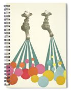 Soapsuds Spiral Notebook