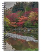 Soaring Fall Colors In The Arboretum Spiral Notebook