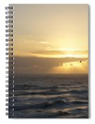 Soaring Sunrise Spiral Notebook