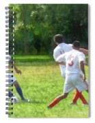 Soccer Ball In Play Spiral Notebook