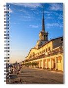 Sochi Sea Port Spiral Notebook