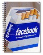 Social Cigarettes Spiral Notebook