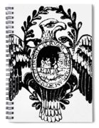 Society Of The Cincinnati Spiral Notebook