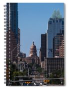 So Co View Of The Texas Capitol Spiral Notebook