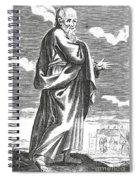 Socrates, Ancient Greek Philosopher Spiral Notebook