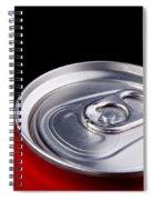 Soda Can Spiral Notebook