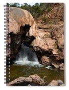 Soda Dam In New Mexico Spiral Notebook