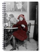 Soda Fountain 3 Spiral Notebook