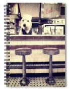 Soda Jerk Spiral Notebook