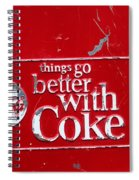 Soda Of Choice Spiral Notebook