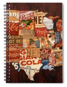 Soda Pop America Spiral Notebook