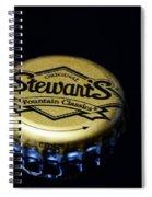 Soda - Stewarts Root Beer Spiral Notebook