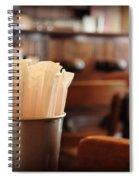 Soda Straws Spiral Notebook