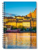 Sodermalm Skyline Spiral Notebook