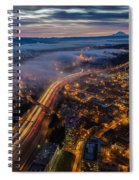 Sodo Sunrise Seattle Morning Spiral Notebook