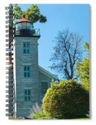 Sodus Pt Light House Spiral Notebook