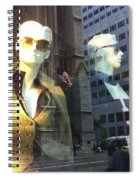 Sofie And Harry In Shades Spiral Notebook