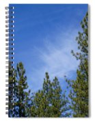 Soft And Gentle Sky Spiral Notebook
