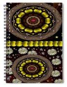 Soft As Velvet Is The Sunset Pop Art Spiral Notebook