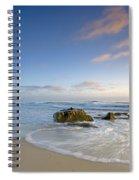 Soft Blue Skies Spiral Notebook
