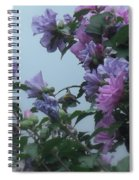 Soft Blues And Pink - Spring Blossoms Spiral Notebook